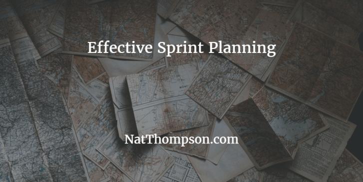 effective sprint planning