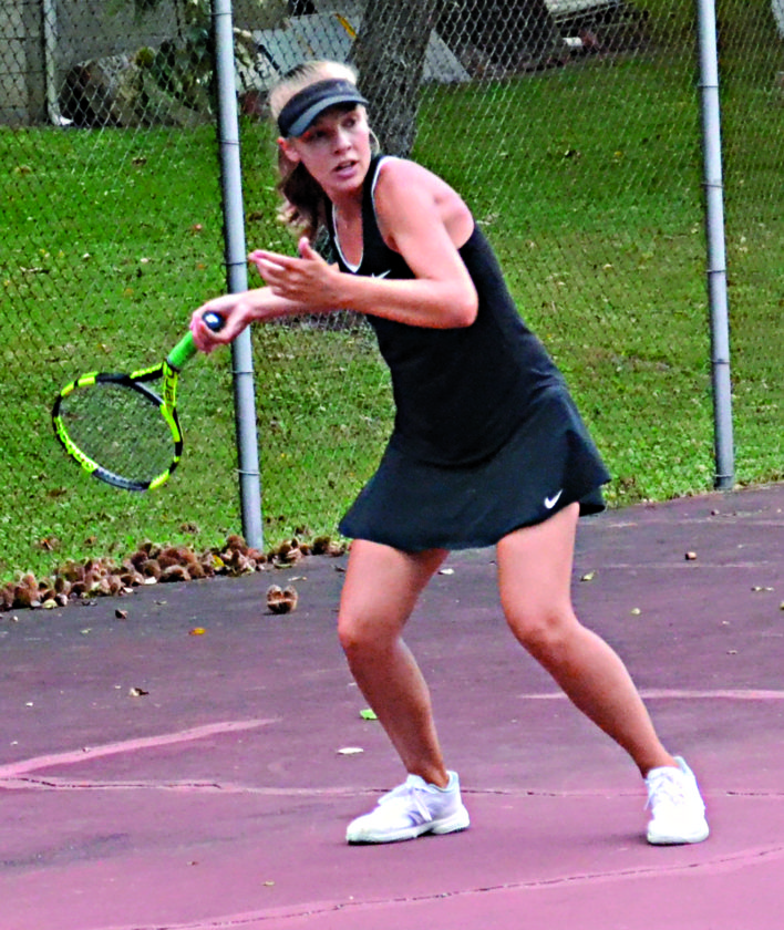 Ohio Tennis Sectionals Today News Sports Jobs Marietta Times