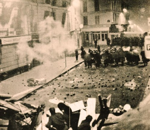 Paris - May, 1968 - not that much different than many places in the world of 2012.