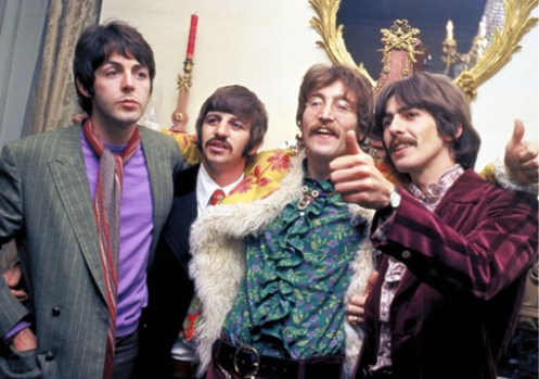 And now a word from John, Paul, George and Ringo.