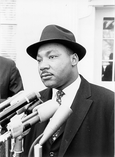 Dr. Martin Luther King - No Justice without Peace. No Peace without Justice.