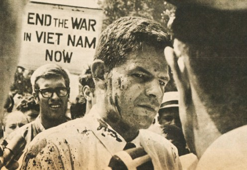 In 1966 the protests against our Vietnam Policy would get louder and more violent..