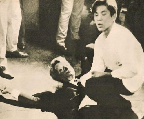 Robert Kennedy shooting 1968 - the end of American innocence came long before this. But it got no better.