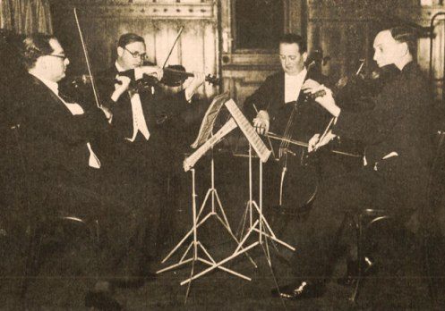 The Roth Quartet - one of the groups most responsible for premiering new American  Music in the 1930s and 1940s.