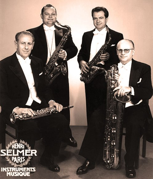 The Marcel Mule Saxophone Quartet - the Be-all/End-all in wind groups.