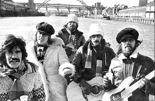 Lindisfarne - that wonderful combination of Folk, Rock and a massive dose of Newcastle Brown.