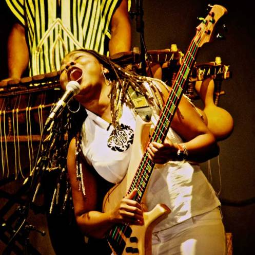 Manou Gallo of Acoustic Africa - in a word: Joy.