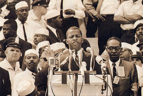 John Lewis - organized the Mississippi Freedom Riders
