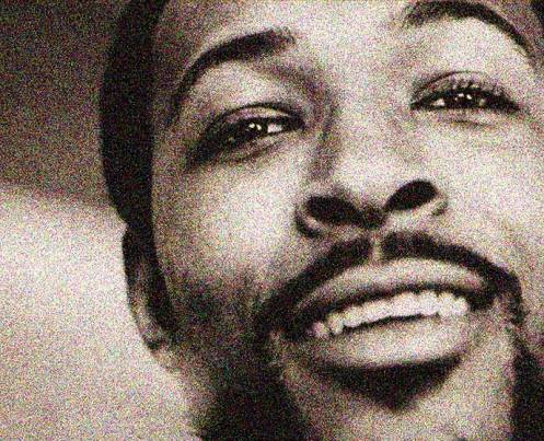 The legendary Marvin Gaye this weekend.