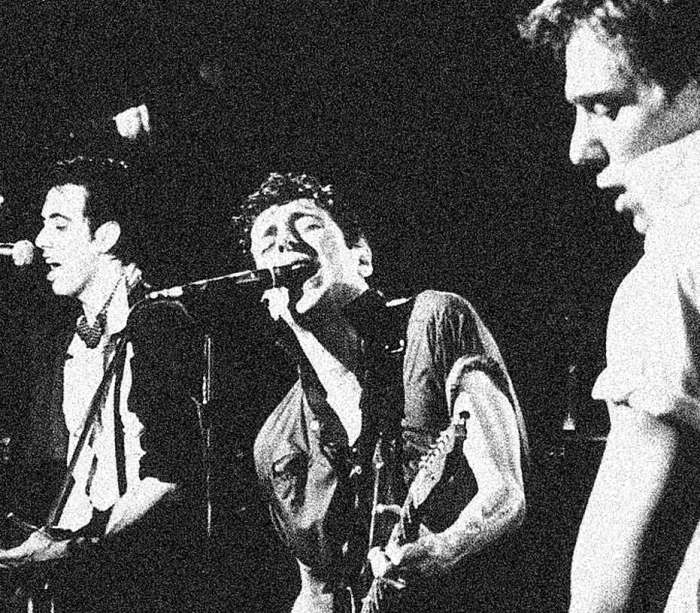 The Clash - bringing some musical anarchy to Tokyo.