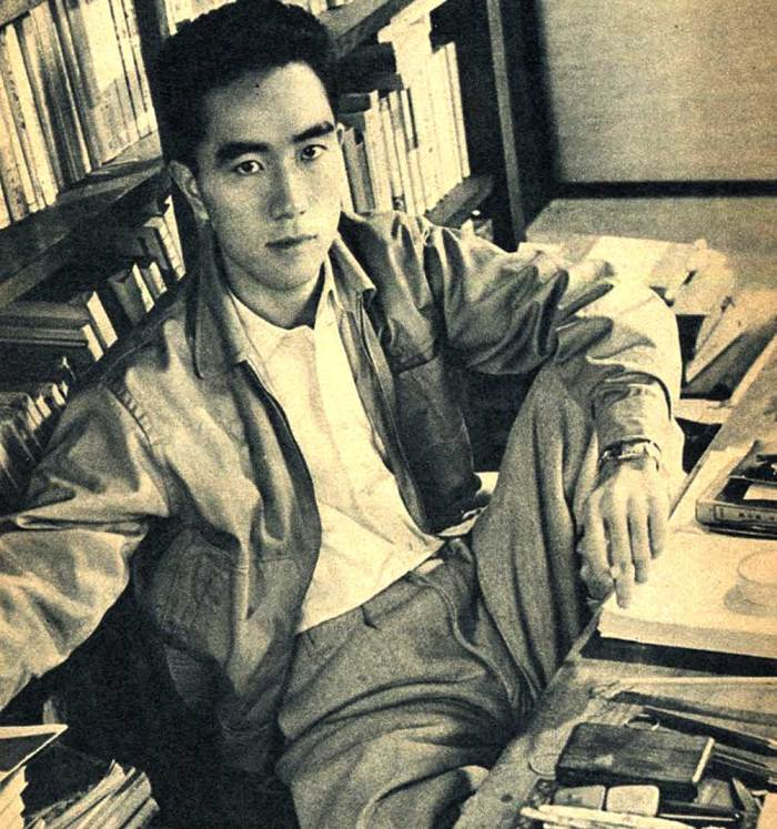 Yukio Mishima - well respected Author who had a haywire side.