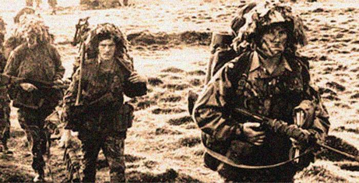 British Troops at Port Stanley in The Falklands - claims and counter-claims.