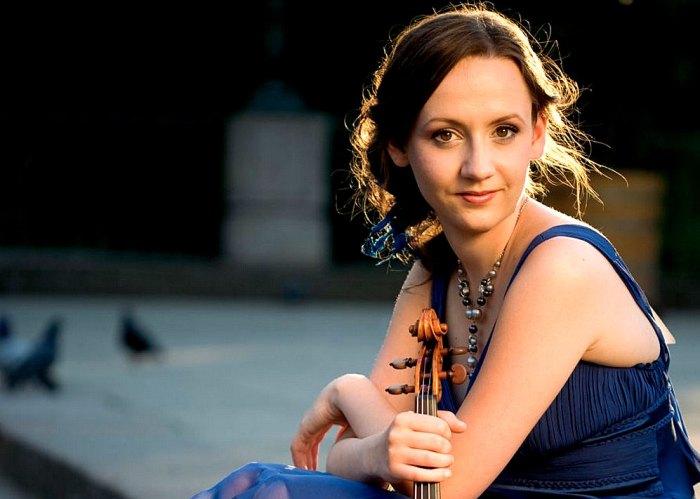 Agata Szymczewska plays Mendelssohn in concert this week.