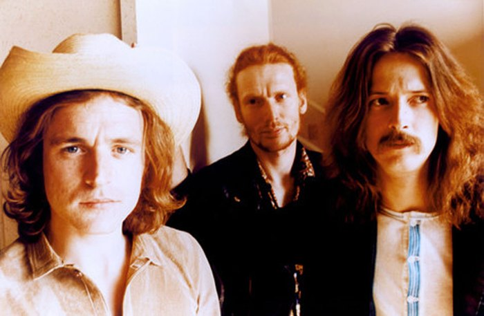 Cream (L-R) Jack Bruce, Ginger Baker, Eric Clapton. Dynamic, innovative and the shape of things to come.