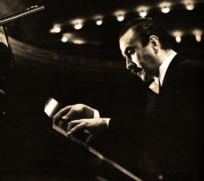 Claudio Arrau - Plays Brahms in an historic concert this week.