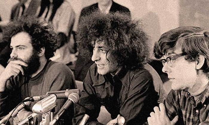 Abbie Hoffman of the Chicago 7 - Protest took a twist. Justice took a detour