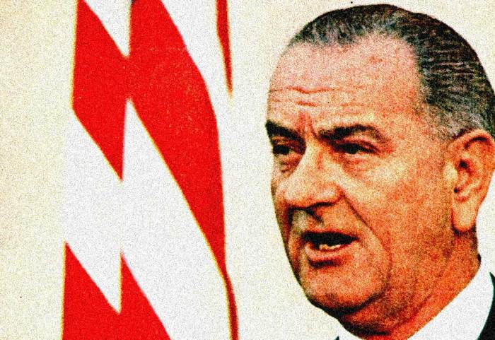 """LBJ - """"This will be a disorderly planet for a long time""""."""