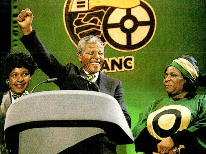 Nelson Mandela's North American Tour - the Mania part.