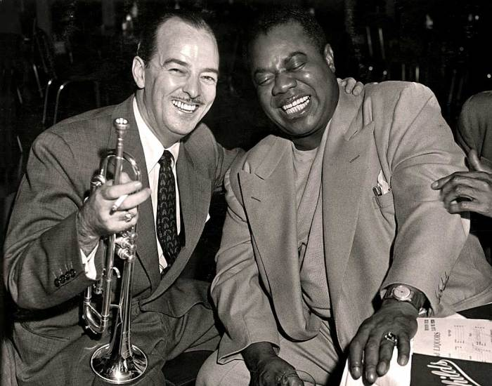 Bobby Hackett and Louis Armstrong - only two of the who's who of notables on this show.