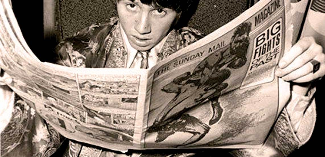 Stevie Wright of The Easybeats - 1967