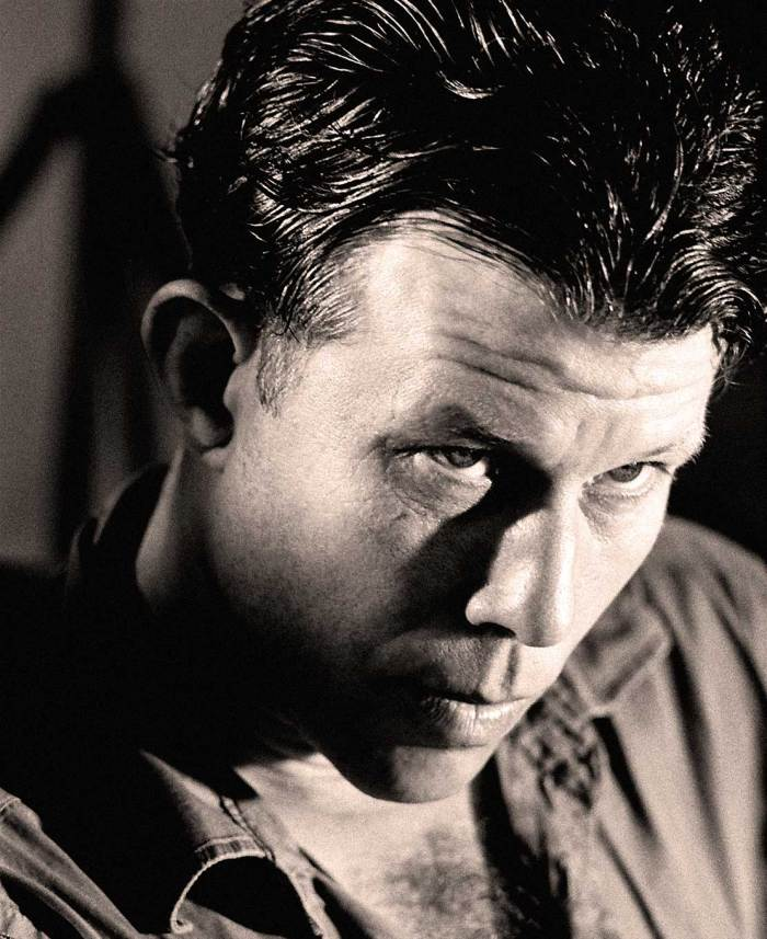 Tom Waits - conjuring images of a naugahyde heaven.
