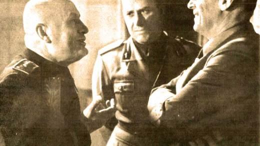June 10, 1940 - Mussolini - Ciano - von Ribbentrop