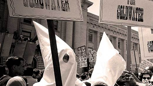 KKK Demonstration - 1964 Republican Convention