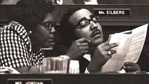 Barbara Jordan and Charles Rangel