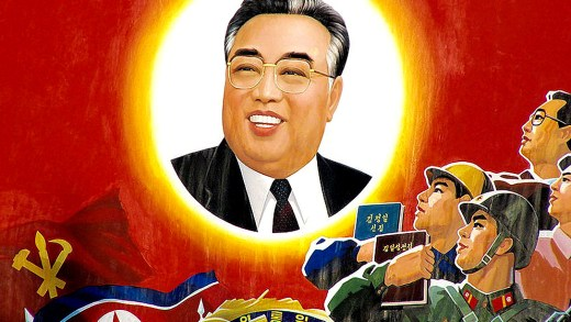 Kim Il Sung of North Korea 1994