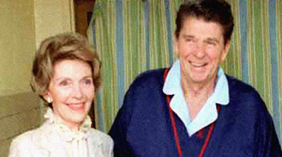 Pres. Reagan - Recovering from Assassination attempt - April 5, 1981