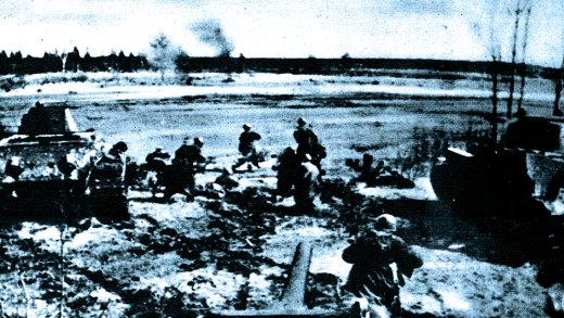 Russian offensive at Kharkov