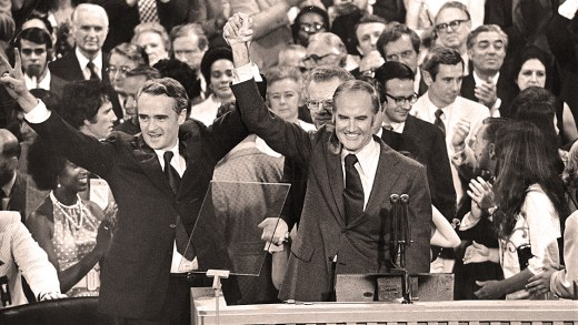 George McGovern - Thomas Eagleton - 1972 Convention