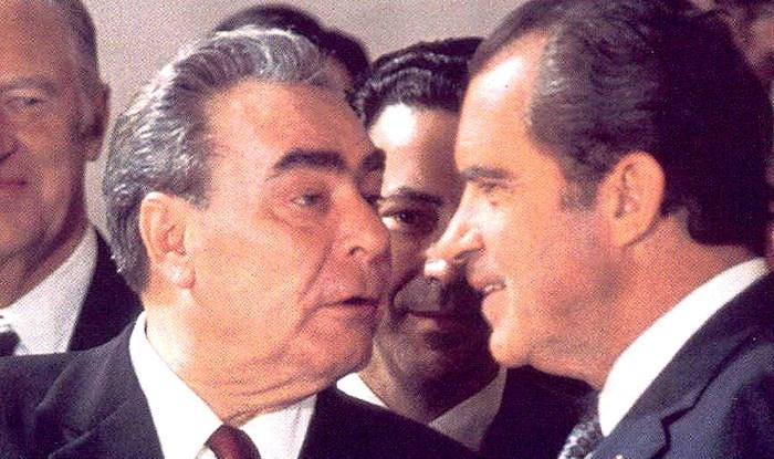 Nixon and Brezhnev 1974