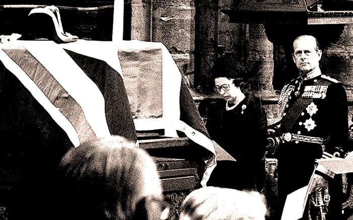 Lord Mountbatten funeral