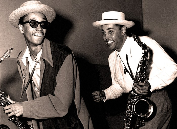 Wardell Gray with Dexter Gordon