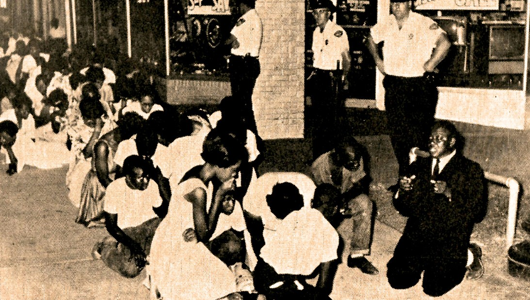 Civil Rights protests 1960
