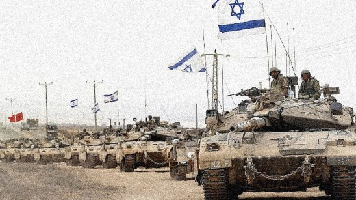 Israeli Tanks in Gaza