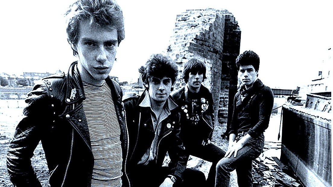 Stiff Little Fingers in session