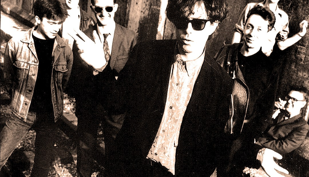 Blue Aeroplanes - in session for Simon Mayo 1988