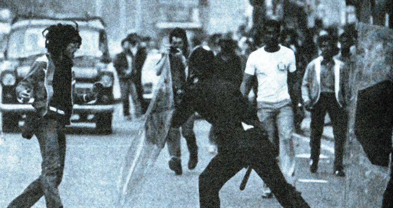 Riots In London - July 13, 1981
