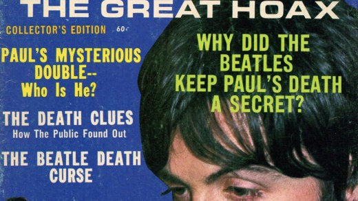 Paul McCartney death hoax 1969