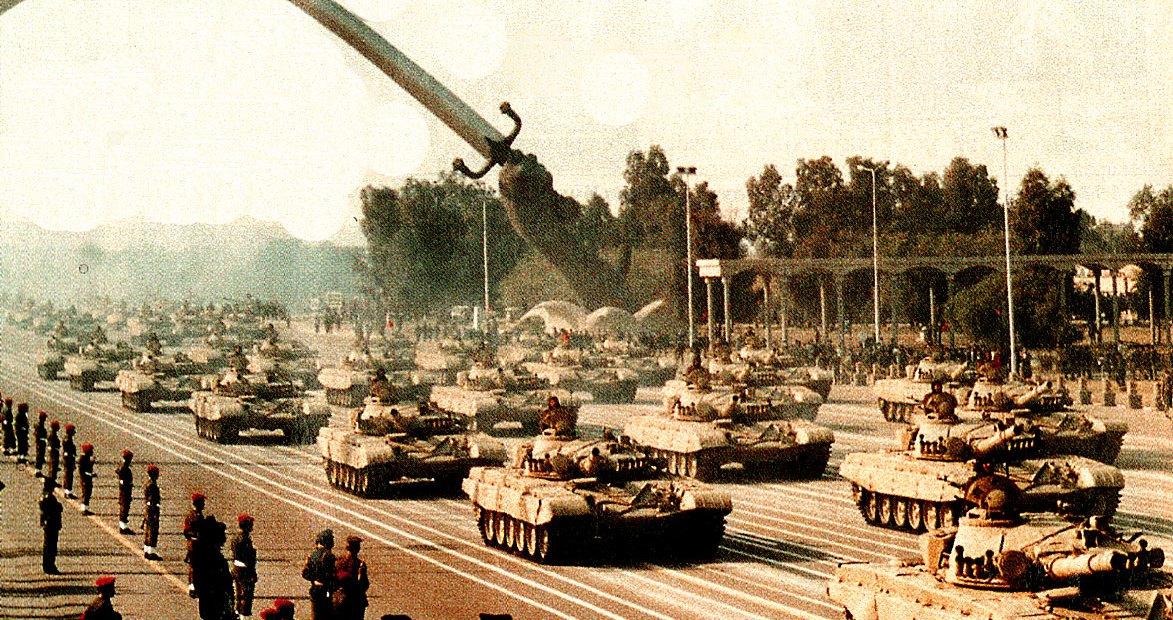 Iraqi Army Parade - 1990