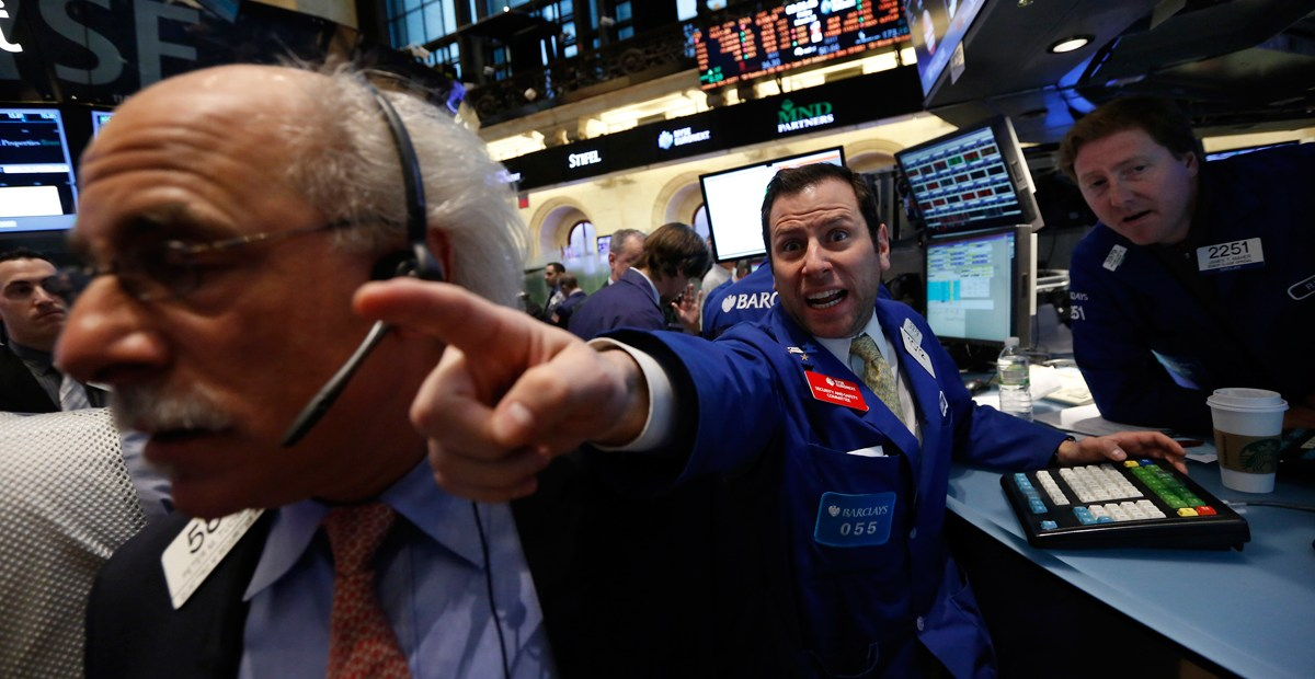 Wall Street freaking out
