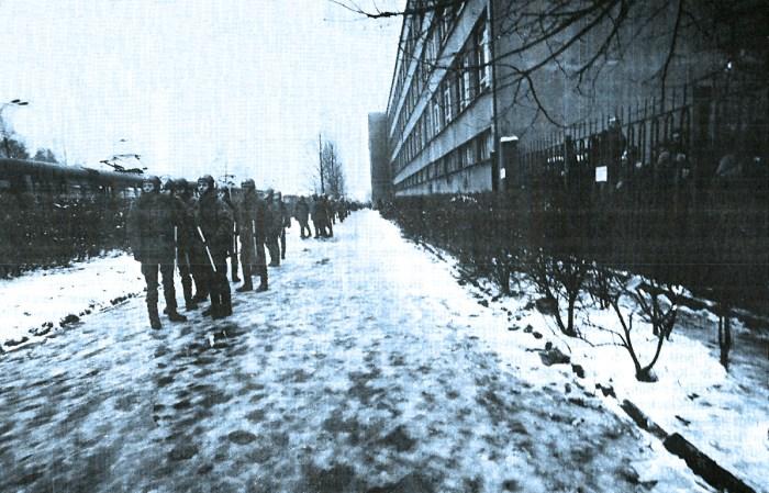 Warsaw strikers