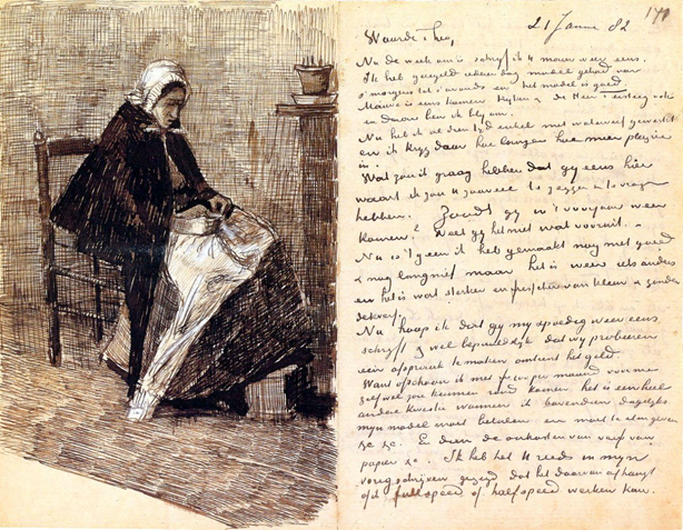 Letter from Vincent to Theo - 1882