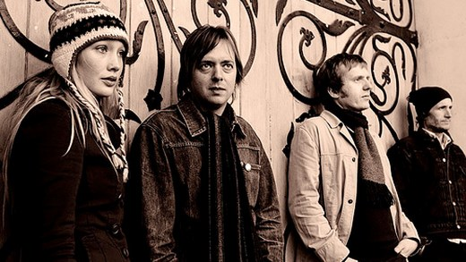 The Clientele - in session - Marc Riley 2015
