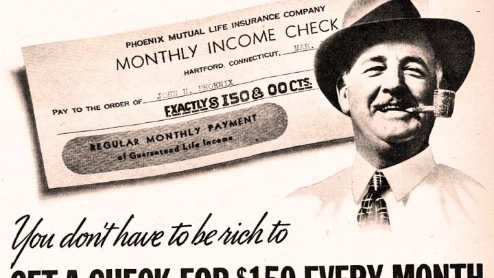 Insurance Ad - 1939