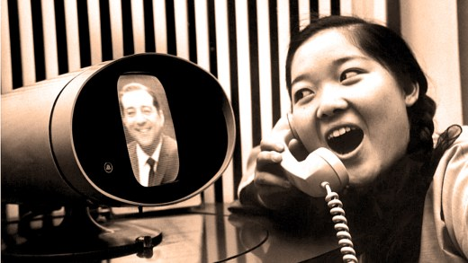 Teleconferencing in 1965