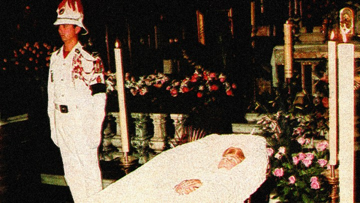 Princess Grace Lying in State
