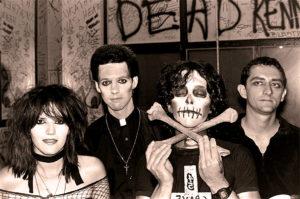 45 Grave - Live At the L.A. Press Club - 1981 - Photo: Edward Colver